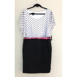 NWT ALYX Black & White Polka Dot Dress